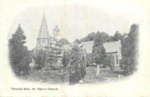 Postcard England Theydon Bois St Mary's Church