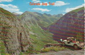 Colorado Jeep Trail On Tomboy Road