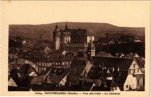 CPA MONTBÉLIARD - Vue générale - Le Chateau (299831)