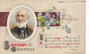 Winsch Birthday Greetings Whittier 1912