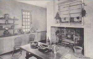 Virginia Mount Vernon The Kitchen Home Of George Washington Albertype