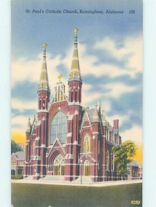 Linen CHURCH SCENE Birmingham Alabama AL AD0964