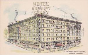 Colorado Denver Shirley Savoy Hotel