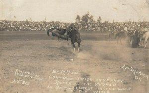 RP: PENDLETON , Oregon , 00-10s ; Tex McCloud Trick Roper Champion of the World