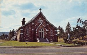 Twin Mountain New Hampshire~St Patricks Church~1960 Postcard