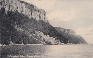 New Jersey Englewood The Palisades Hudson River 1910