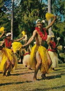 TAHITI, 50-70s; Otea Dancer