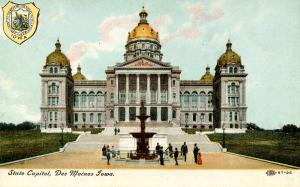 IA - Des Moines. State Capitol