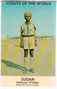 Scouts of the World, Sudan