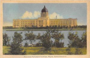 Saskatchewan  Regina   Provincial Parliament Buildings