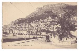 Monaco La Condamine Quarter Harbor Port Shops Vintage Postcard Baylone Freres