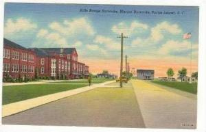 Rifle Range Barracks, Parris Island, South Carolina, 30-40s