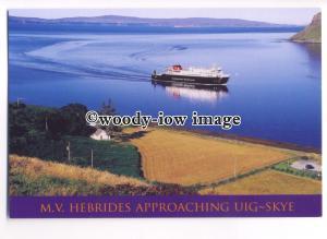 FE0602 - Caledonian MacBrayne Ferry - Hebrides , built 2001 - postcard