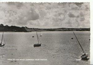 Devon Postcard - View Up The River Torridge From Instow  - RP - Ref TZ4937