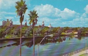 Florida Tampa University Of Tampa From Hillsborough River