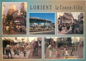 France lorient le centre ville multi view postcard street
