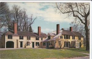 USA, Bullet Hole House, Concord, Mass, unused Postcard