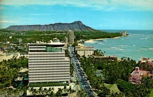 Hawaii Top Of Waikiki Restaurant 1969