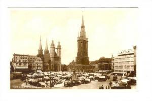 RP; Halle a.S. Marktplatz , Germany, 1910-20s