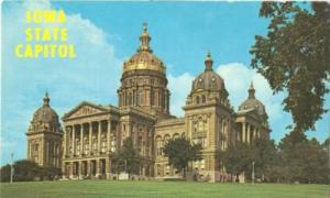 Iowa State Capitol, Des Moines, Iowa, unused Postcard