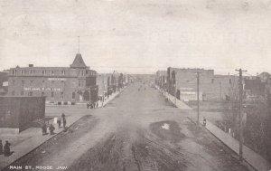 MOOSE JAW , Saskatchewan , Canada , PU-1908 ; Main Street
