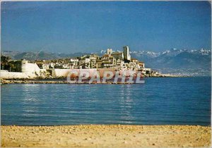 Modern Postcard Antibes (Alpes Ms) Ramparts old town