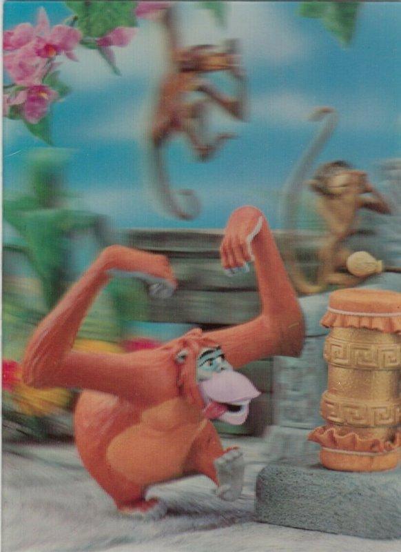 3-D ; Disney The Jungle Book, Orangutan King Louie,1970