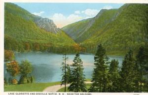NH - Dixville Notch, Lake Gloriette Near The Balsams
