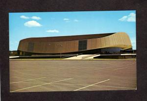 CO Colorado State Univ University Gym Auditorium Fort Ft Collins Postcard