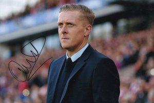 Gary Monk Sheffield Wednesday Birmingham Leeds 12x8 Hand Signed Photo