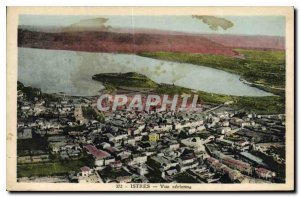 Old Postcard Istres Air view
