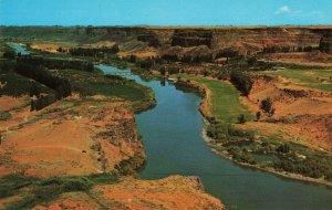 Postcard Snake River Canyon Idaho