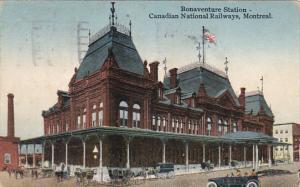 Canada Canadian National Railways Bonaventure Station Montreal 1926