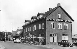 Netherlands Hotel Cox, Dortmunder Actien-Bier, terrace, auto cars voitures