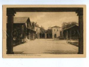 158488 Germany GRUSS von der SAALBURG im Taunus Fort Kastell
