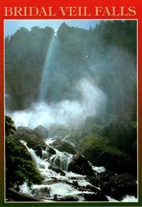 Colorado Telluride Falls Bridal Veil Falls