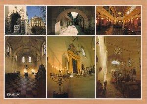 JUDAICA, Six Synagogues, Krakow, Poland,  Kazimierz Jewish Quarter, Remuh, Isaac