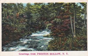 New York Greetings From Preston Hollow 1934