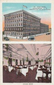 CHARLESTON, South Carolina , 1910-20s ; St John Hotel