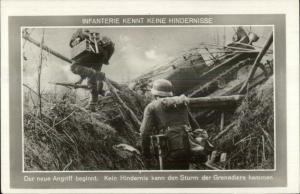 WWII Nazi Army Infaterie Real Photo Postcard REPRO???