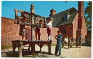 Public Gaol, Williamsburg VA