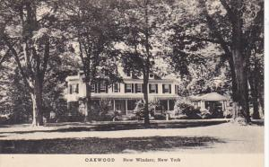 New York New Windsor Oakwood Colonial Estate Albertype