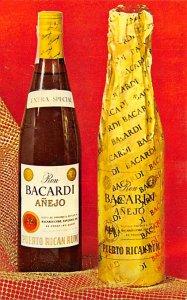 Bacardi Anejo Advertising Unused