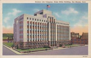 Iowa Des Moines Bankers Life Company Home Office Building 1941 Curteich