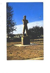 Statue, 12 Foot Davis, Peace River, Alberta,