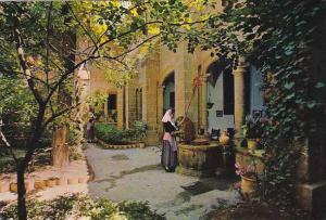 Spain Mallorca Valldemosa Palacio Del Rey Sancho Claustro