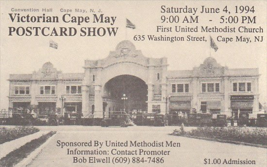 Victorian Cape May Postcard Show 1994 Cape May New Jersey