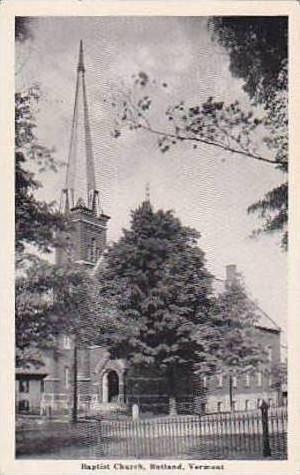 Vermont Rutland Baptist Church