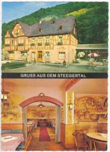 Gruss aus dem Steegertal, Gasthaus zur alten Muhle, Germany 1950-70s