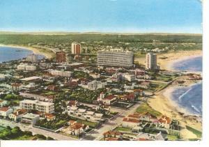 Postal 045721 : Punta del Este (Uruguay). Vista parcial desde la peninsula al...